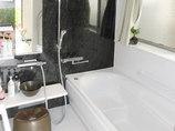 バスルームリフォーム間取りを変えて広く使える浴室と洗面所